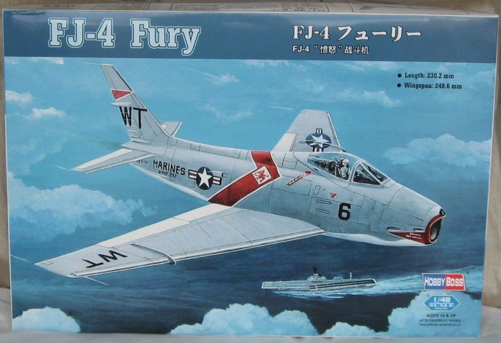 HBB80312 1/48 North American FJ-4 Fury